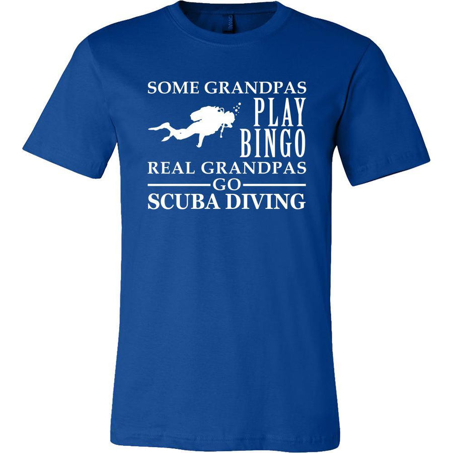 Scuba Diving Shirt Some Grandpas play bingo, real Grandpas go Scuba Diving Family Hobby