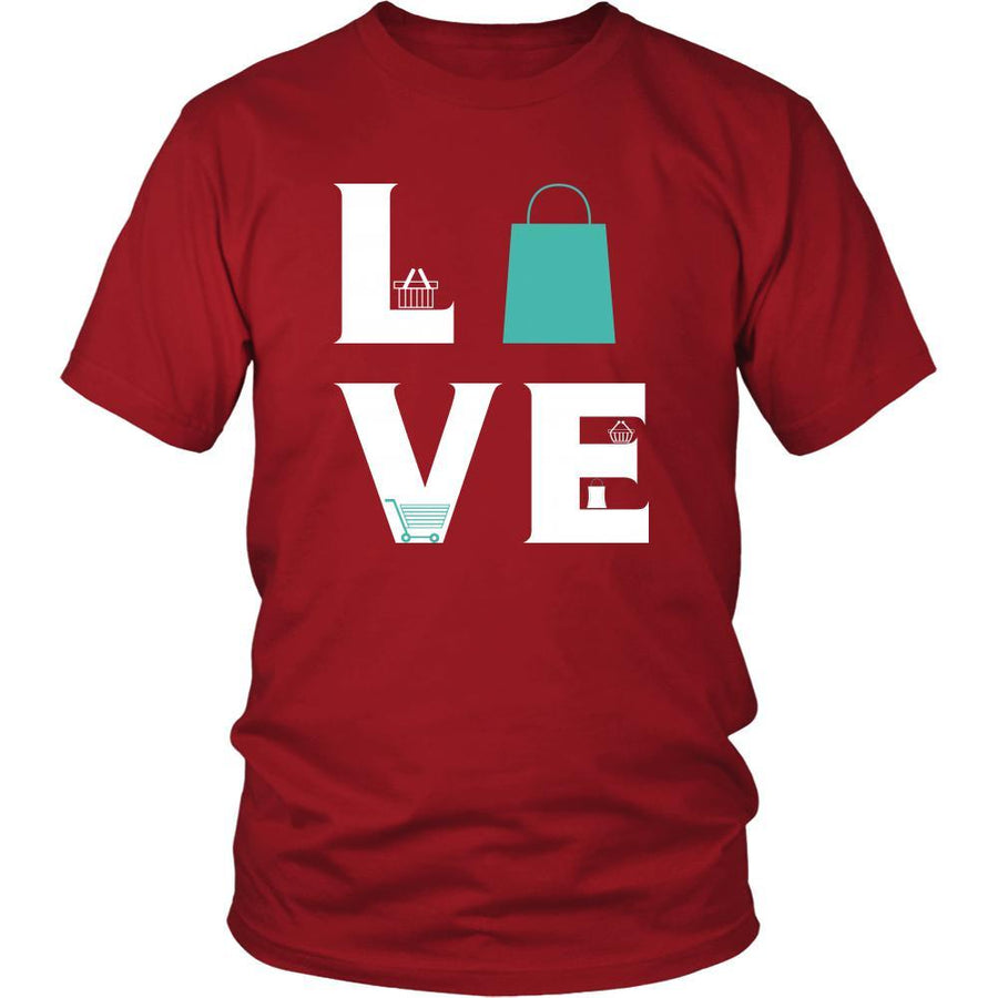 Shopping - LOVE Shopping - Shop Maniac Hobby Shirt-T-shirt-Teelime | shirts-hoodies-mugs