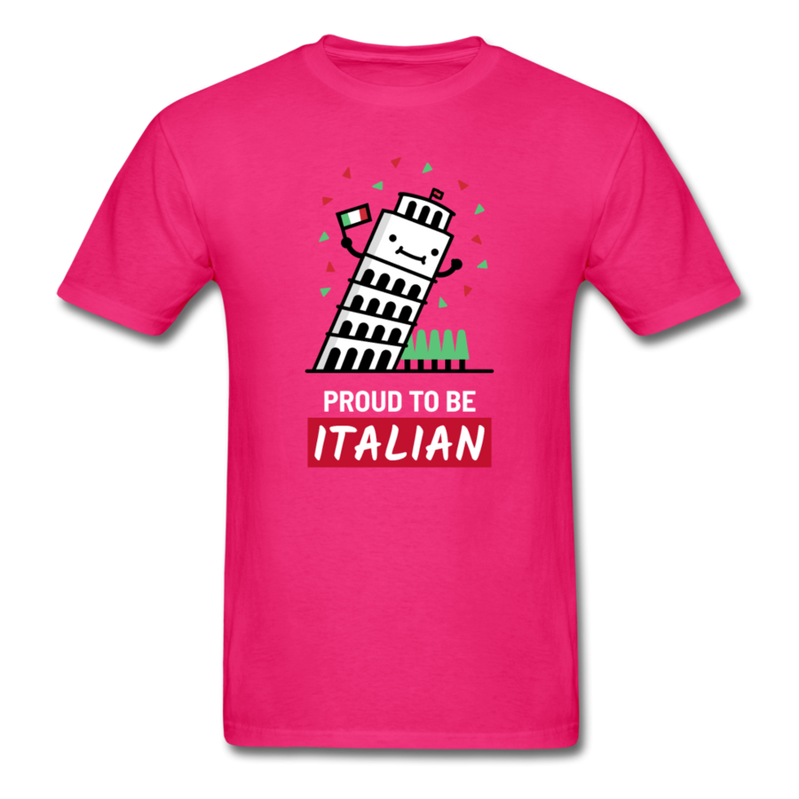 Proud to be Italian Unisex T-Shirt-Men's T-Shirt-Teelime | shirts-hoodies-mugs