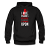 I Ride Horses Because Punching People is Frowned Upon Unisex Hoodie-Men's Hoodie-Teelime | shirts-hoodies-mugs