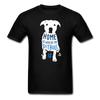 Home is Where My Pitbull Is Unisex T-Shirt-Unisex Classic T-Shirt | Fruit of the Loom 3930-Teelime | shirts-hoodies-mugs