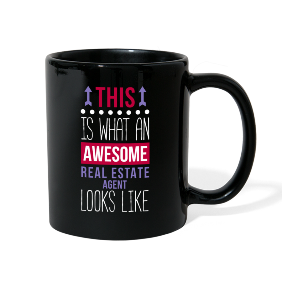 Awesome Real Estate Agent Looks Like Full color Mug