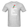Legends Are Born in Lebanon Unisex T-Shirt-Unisex Classic T-Shirt | Fruit of the Loom 3930-Teelime | shirts-hoodies-mugs
