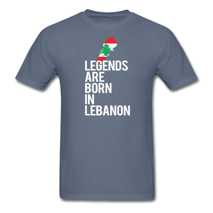 Legends Are Born in Lebanon Unisex T-Shirt