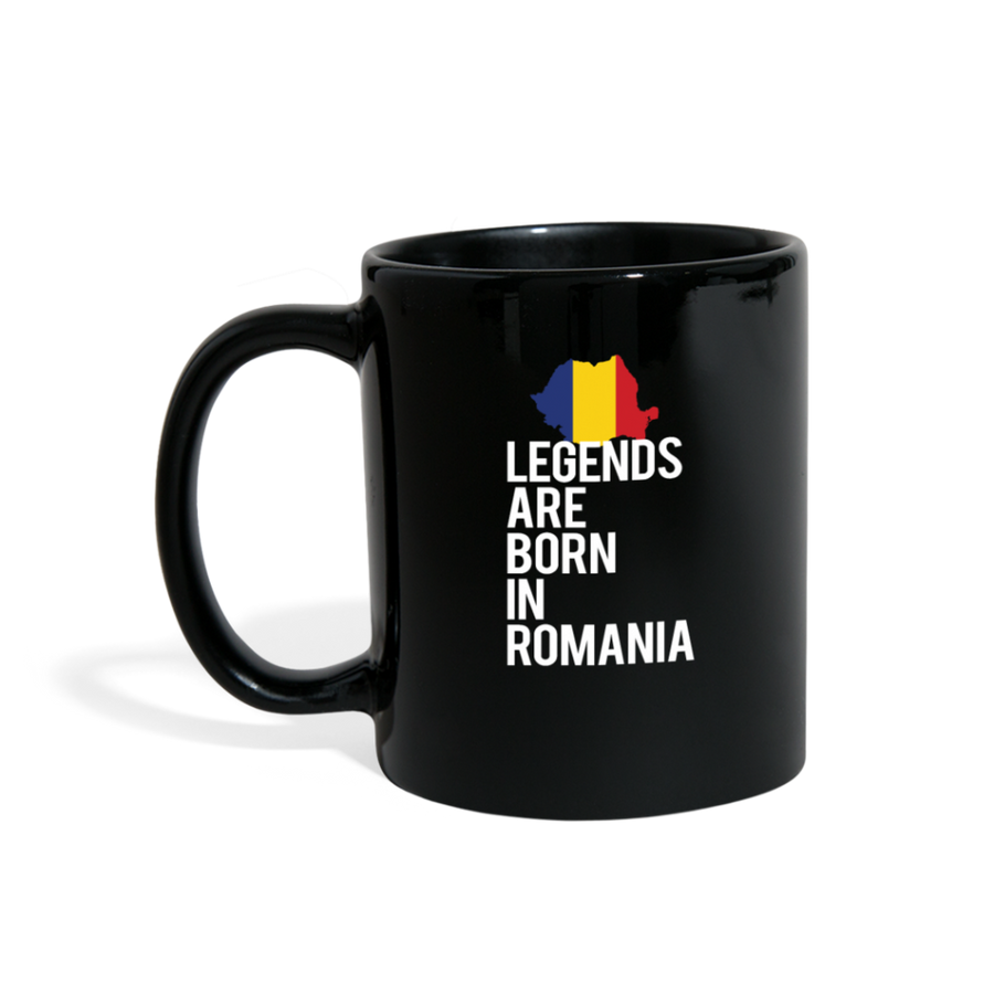 Legends are born in Romania Full color Mug
