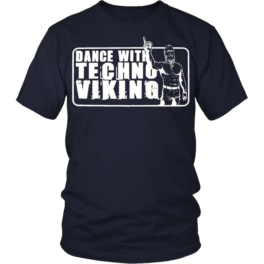 Techno T shirts - Techno Viking-T-shirt-Teelime | shirts-hoodies-mugs