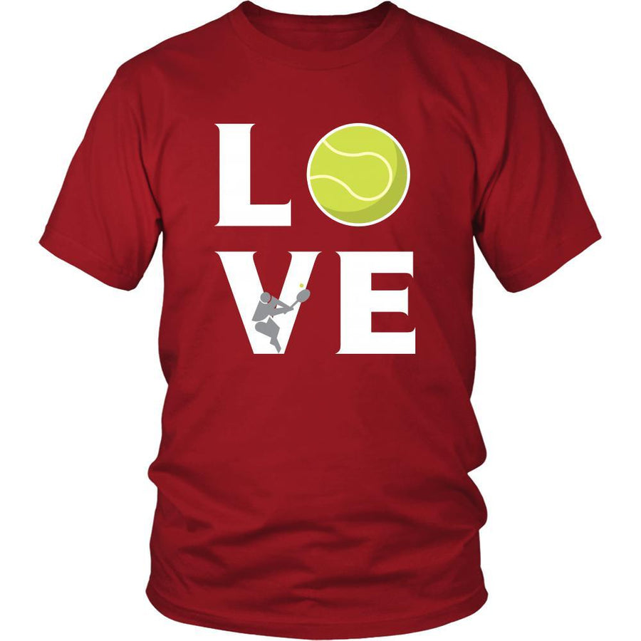 Tennis - LOVE Tennis - Sport Player Shirt-T-shirt-Teelime | shirts-hoodies-mugs
