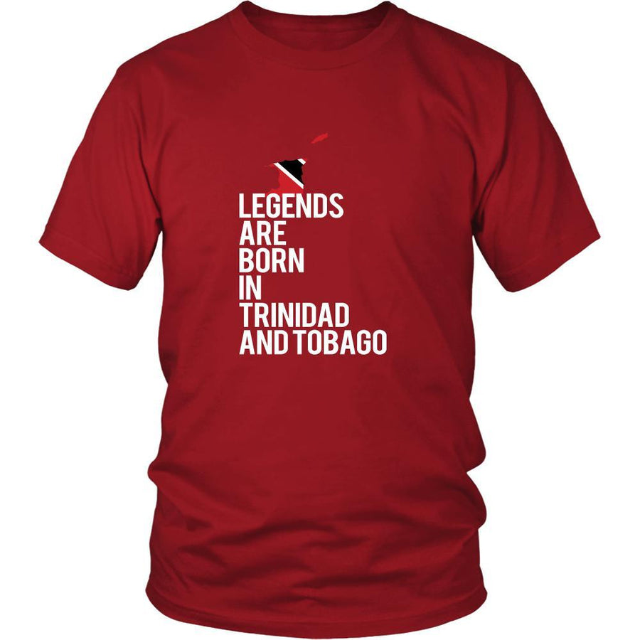 Trinidad and Tobago Shirt - Legends are born in Trinidad and Tobago - National Heritage Gift-T-shirt-Teelime | shirts-hoodies-mugs