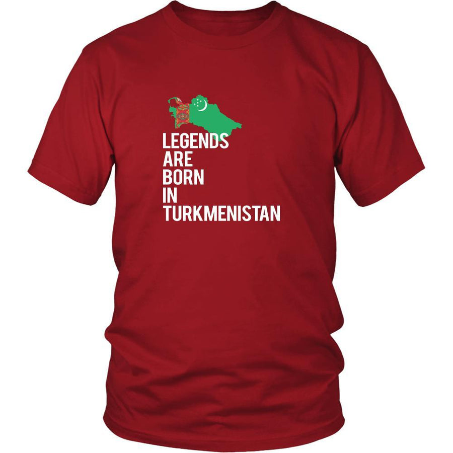 Turkmenistan Shirt - Legends are born in Turkmenistan - National Heritage Gift-T-shirt-Teelime | shirts-hoodies-mugs