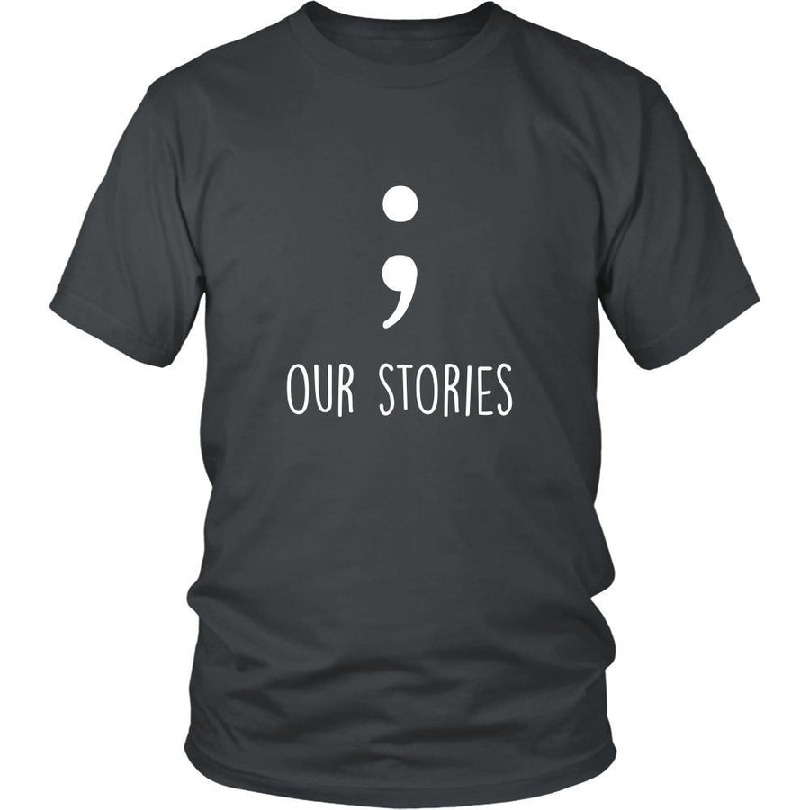 Valentine's Day T Shirt - Our stories-T-shirt-Teelime | shirts-hoodies-mugs