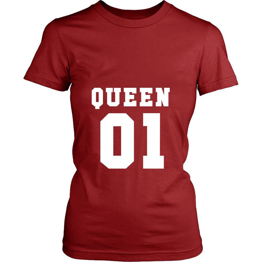 Valentine's Day T Shirt - Queen 01-T-shirt-Teelime | shirts-hoodies-mugs