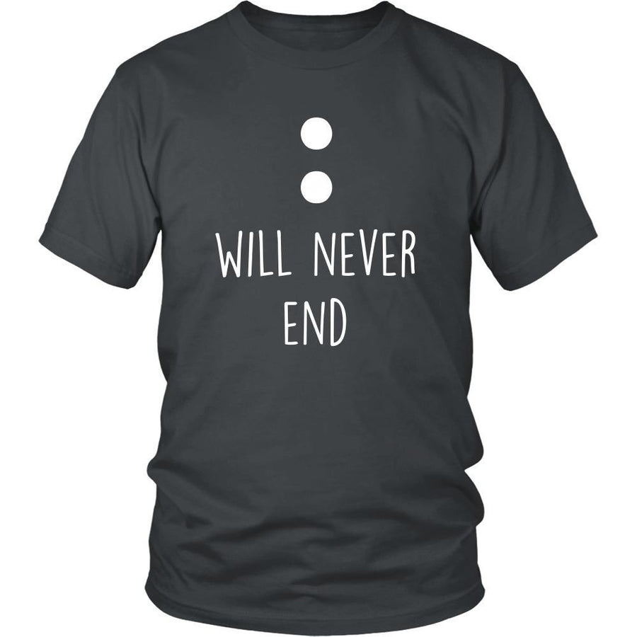 Valentine's Day T Shirt - Will never end-T-shirt-Teelime | shirts-hoodies-mugs