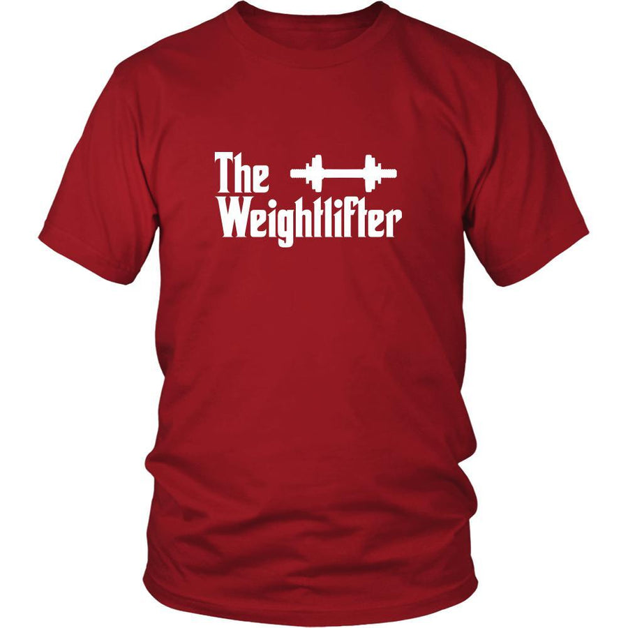 Weightlifting Shirt - The Weightlifter Sport Gift-T-shirt-Teelime | shirts-hoodies-mugs
