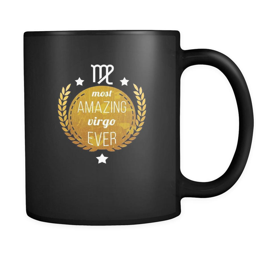 Zodiac Most amazing virgo ever 11oz Black Mug-Drinkware-Teelime | shirts-hoodies-mugs