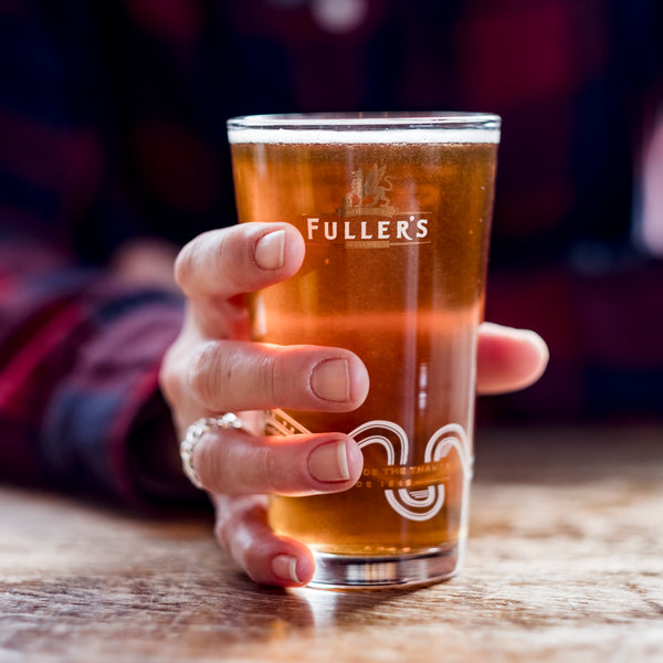 Fuller's Half Pint Glass