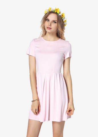 Shortsleeves Fit and Flare Dress