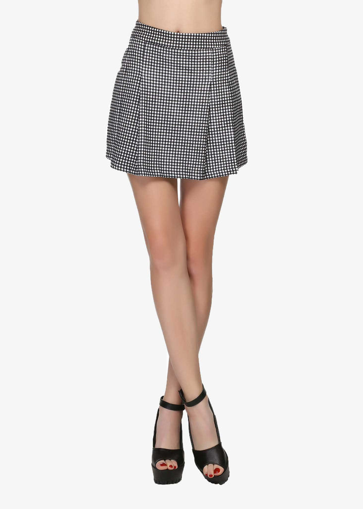Hilda Pattern Skirt-like shorts
