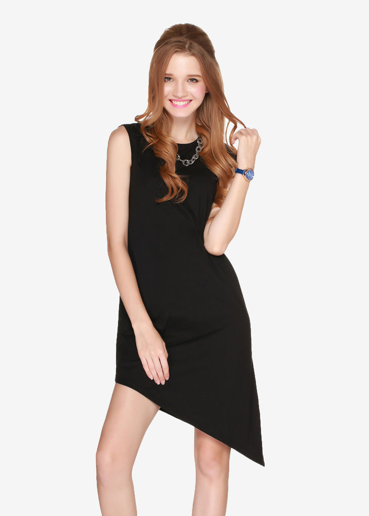 Holly Asymmetric Hem Dress