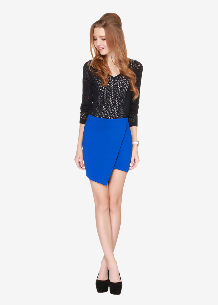 Hetty Overlapping skirt