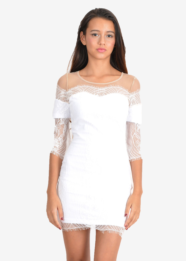 Belina Lace Mini Dress