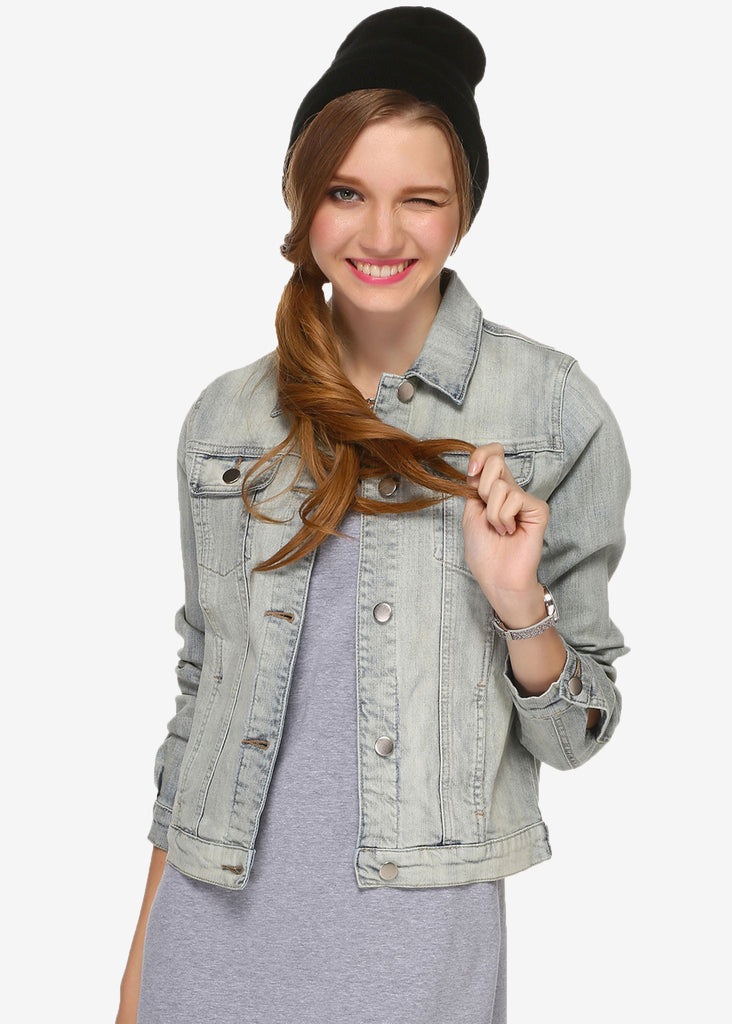 Holly Bleach Denim Jacket