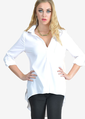 Gale Pocket Roll Sleeves Shirt