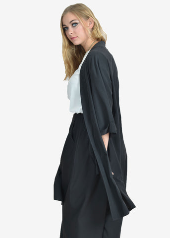 Farrah Split At Back Midi Jacket