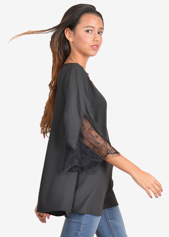 Jo Jo Bell sleeves Tunic Tops