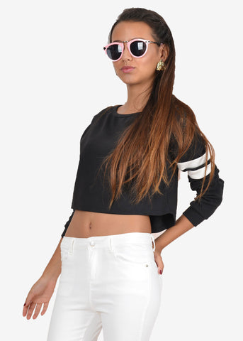 Jo Jo Time Out Crop Sweatshirt