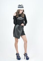 Jo Jo Wrap Mini Skirt