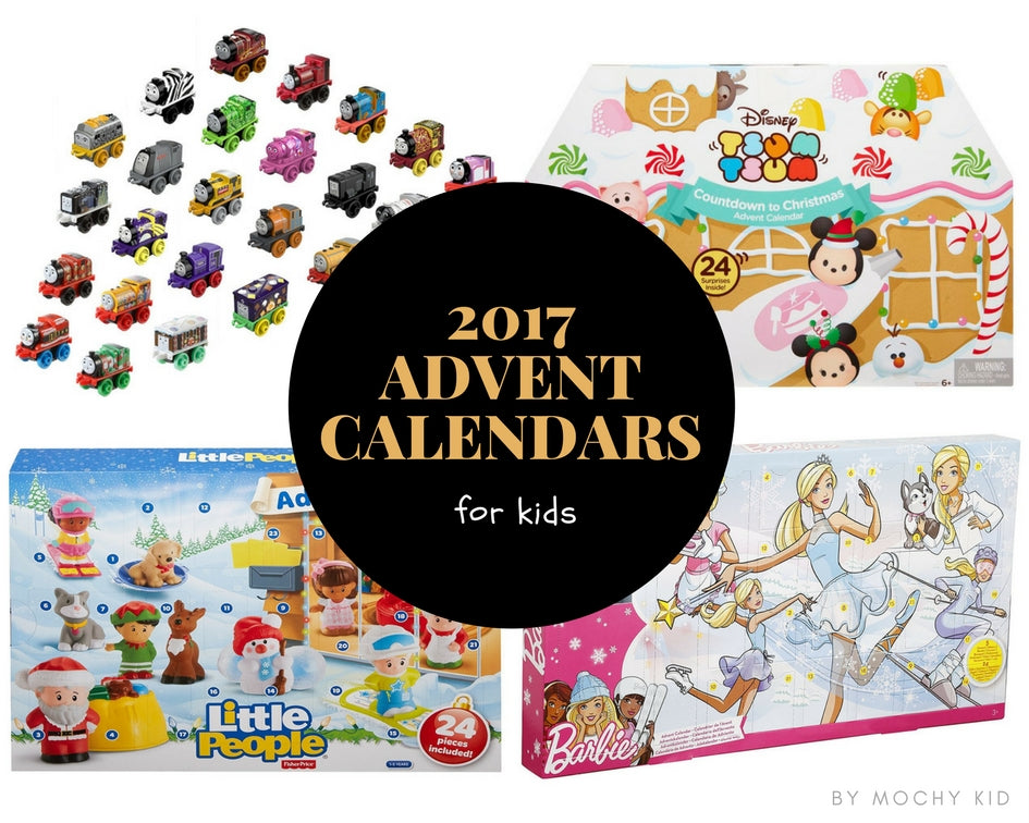 summary of 2017 advent calendars for kids in Hong Kong - shortlisted