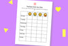 Feelings Check Up Chart (printables)