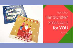 Want to Receive Handwritten Xmas Cards?