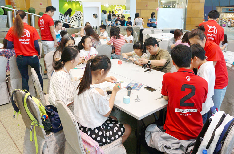 Mochy Kid Limited - HK DIY STEM STREAM STEAM workshop class regular course activity program programme for hotel, club, school, event companies