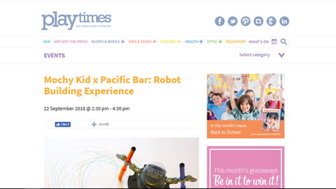 hk expat, playtimes, media, magazine, mochy kid, conrad, hotel, hong kong, hk, hk kids, kids, family fun
