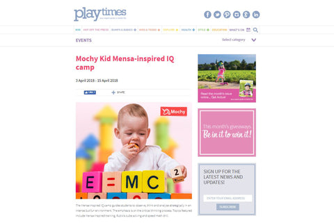 playtimes, training camp, course, easter, summer, mochy kid, class, regular, stem, coding, mensa, iq, kid, ibanker
