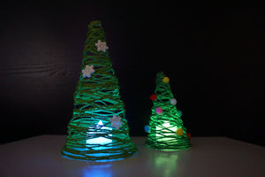 Glow in the Dark Hemp Rode Christmas Tree - Moinàrchy MIY (HK)