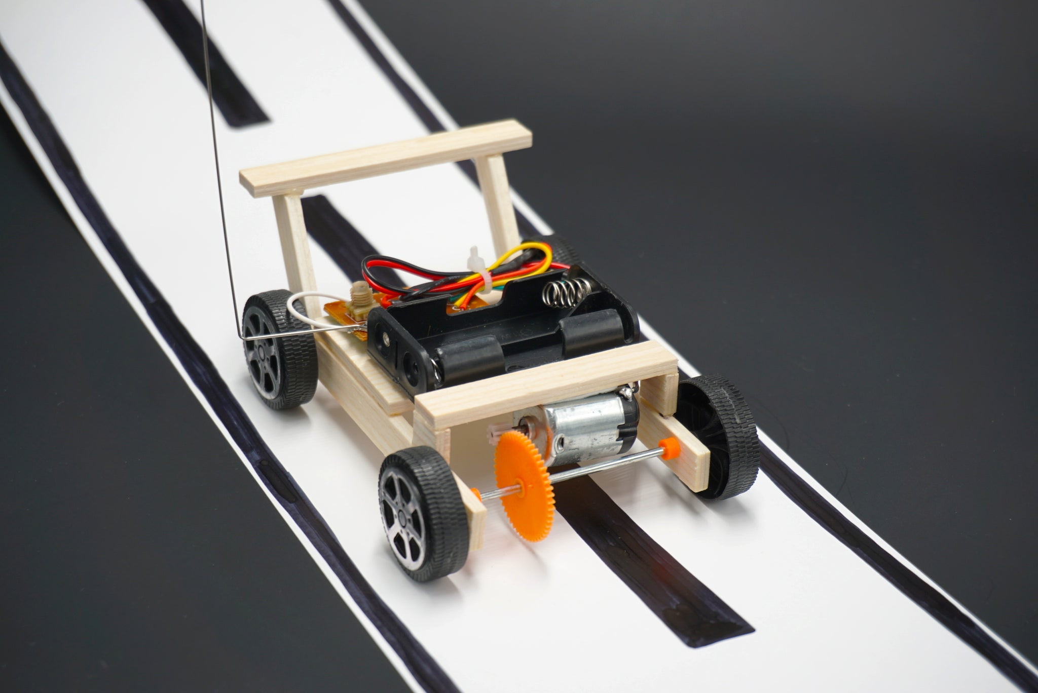 Remote controlled circuit board car do it yourself remote controlled circuit board car diy stem stream steam kit solutioingenieria Images