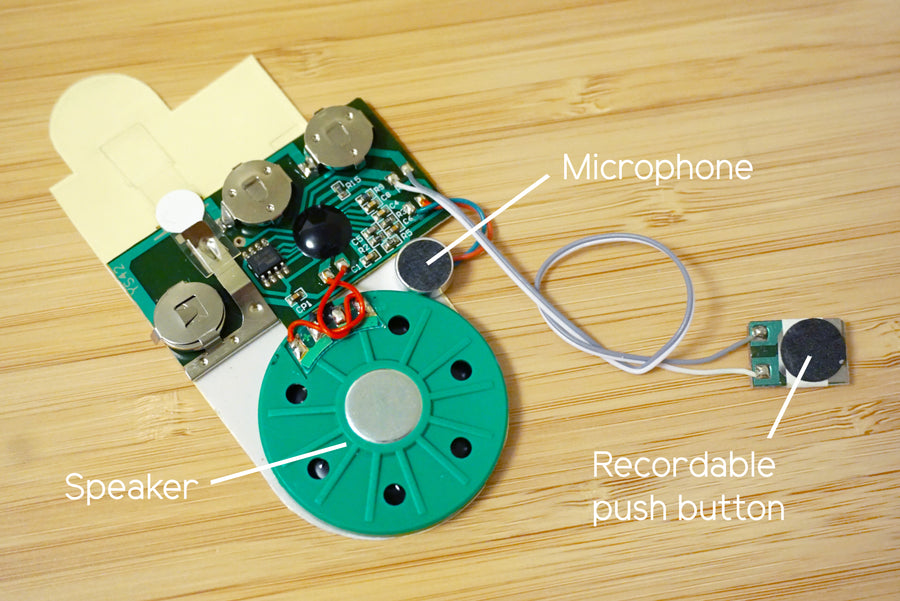 Greeting Card Recorder (Sound Module)