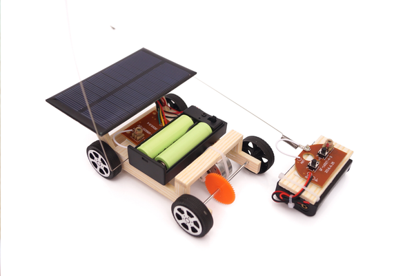 Solar Powered Circuit Board Hybrid Car (remote controlled) (太陽能款電路板遙控車) - Moinàrchy MIY (HK)