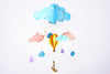 Wispy Sky Wind Chime / Baby Mobile
