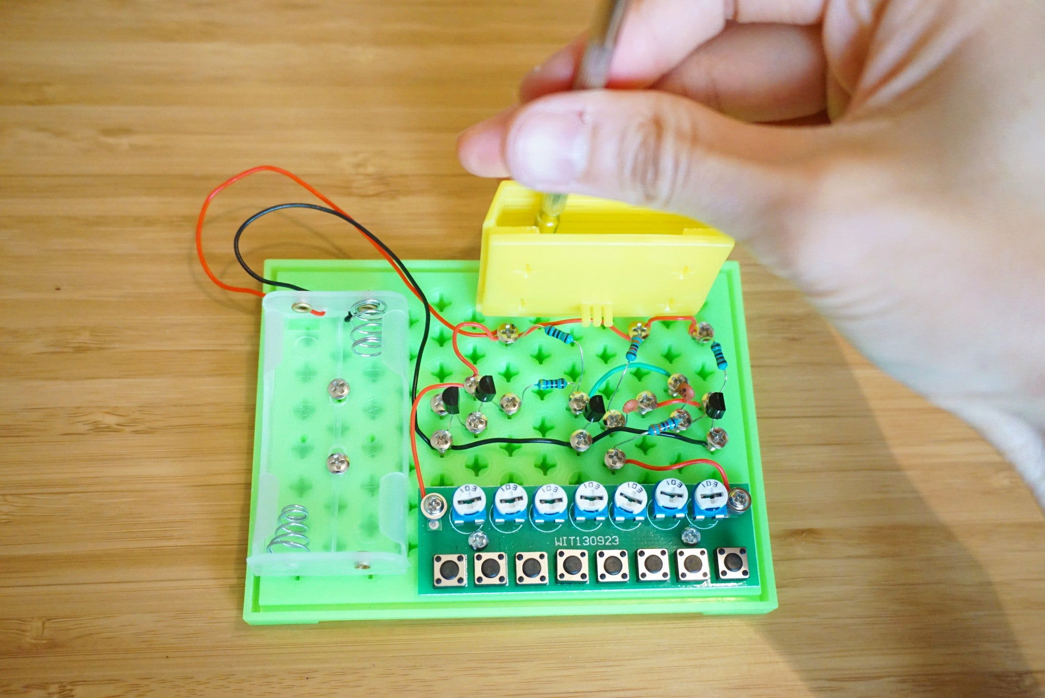 Musical Snap Circuit Piano 8 Keys Mochy Kid Limited Home Products Science Kits Circuits Green Tuneable