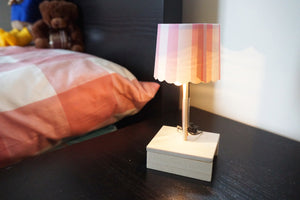Wood bedside table lamp (make custom light shade too!) - Moinàrchy MIY (HK) - 9