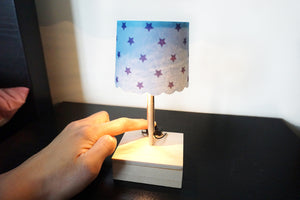 Petite Table Lamp - Starry Red / Pink Strip / Blue Strip - Moinàrchy MIY (HK)