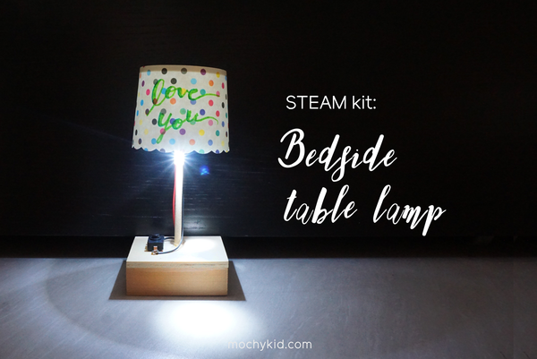 Petite Table Lamp - Starry Red / Pink Strip / Blue Strip