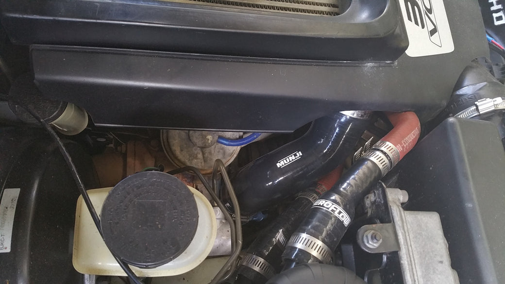 4JJ1 Intercooler Hot Pipe  Upgrade