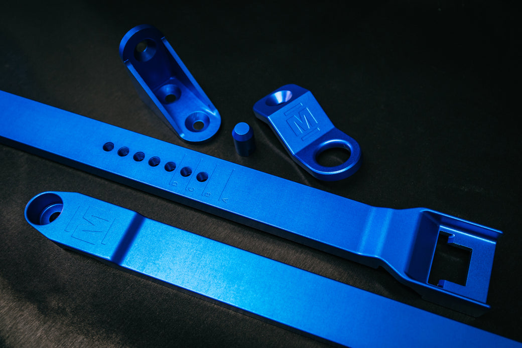 Radiator Adjustable Side Brackets (RA Rodeo, RC Colorado and Early Shape D-Max)