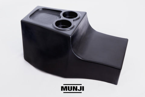 "Rear Sub Box with Dual Cup Holders and Wallet Pocket (Fits Up To 12"" Sub-woofer)"