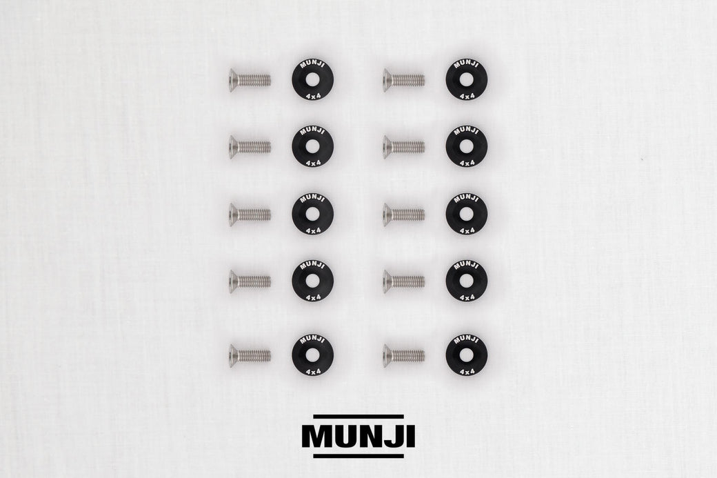 Munji M6 Bolt + Washer Pack