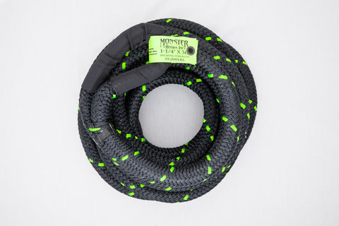 "MONSTER ROPE [ 1 1/4"" ] THICK RATED AT 59,000LBS"